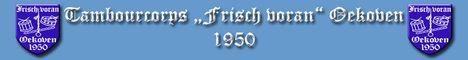 """Tambourcorps """"Frisch voran"""" Oekoven 1950"""